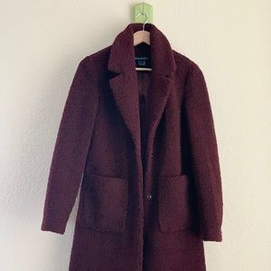 French Connection Long Teddy Coat